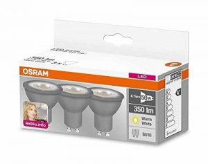 ampoule led gu10 osram TOP 0 image 0 produit
