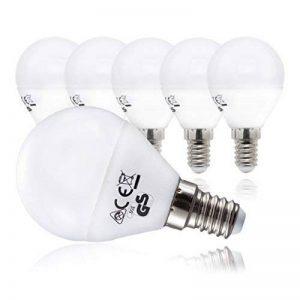 Ampoule LED LED Lampe Ampoule LED///E14/5,5 W/470 lm/remplace 40 W/Blanc chaud, E14, 5 watts, 230.00 volts de la marque B.K.Licht image 0 produit