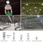 Ampoule LED Maïs E40 Bouchon à visser (grande) 54W , Super Bright 6100lm Blanc lumière du jour ampoule 6000 K, AC220–240 V 360 ° Angle de faisceau, DE REMPLACEMENT pour 300 W aux halogénures métalliques HID/HPS, remplacement de garage Parking haute baie e image 3 produit