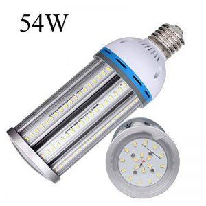 Ampoule LED Maïs E40 Bouchon à visser (grande) 54W , Super Bright 6100lm Blanc lumière du jour ampoule 6000 K, AC220–240 V 360 ° Angle de faisceau, DE REMPLACEMENT pour 300 W aux halogénures métalliques HID/HPS, remplacement de garage Parking haute baie e image 0 produit