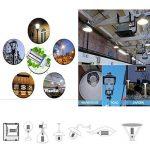 Ampoule LED Maïs E40 Bouchon à visser (grande) 54W , Super Bright 6100lm Blanc lumière du jour ampoule 6000 K, AC220–240 V 360 ° Angle de faisceau, DE REMPLACEMENT pour 300 W aux halogénures métalliques HID/HPS, remplacement de garage Parking haute baie e image 2 produit