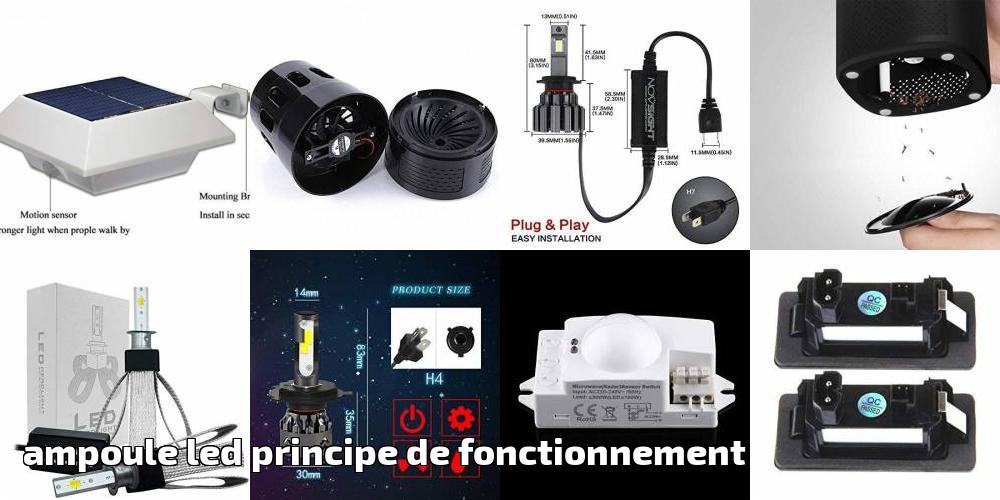 Comparatif De Le Fonctionnement Principe Led PourAmpoule Meilleur dtshrCQ