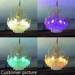 Ampoule LED RGBW avec Télécommande Sans Fil,Changement de Couleur Dimmable LED Bulbs,3W (=20W Ampoule Halogène), Blanc Froid, 6000K, Culot E14, Lot de 4 unités,Lampe d'ambiance(4 Pack E14 +6000K) de la marque Sunpion image 4 produit