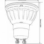 Ampoule LED Spot Culot Gu10 Blanc Froid 6000K 5.5W équivalent 50W 500lm LUOKOED x 10 de la marque LUOKOED image 3 produit