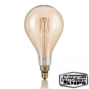 Ampoule LED Vintage XL E278W 640LM 2200K Goutte carbone Giant Big de la marque Underground Vintage Lamps image 0 produit