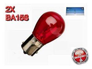 Ampoule M Tech Z382x 21W 12V, rouge, Nombre 2 de la marque MTech image 0 produit