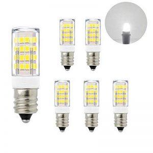 Ampoule Mais Petit Culot E14 a LED 5W 400Lm Economique Éclairage Blanc Froid 6000K AC220-240V Remplace Lampe Ampoule Halogene 40W Lot de 6 de Enuotek de la marque ENUOTEK image 0 produit