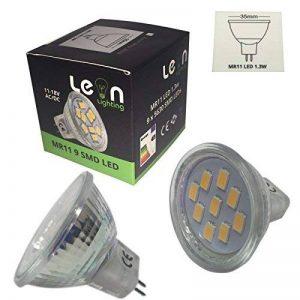ampoule mr11 12v 10w TOP 3 image 0 produit