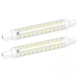Ampoule R7S LED 118 mm 10W Blanc Froid 6000K Azhien, Équivalent Lampe Halogene 100W, Réfléchissante Linéaire, Douilles r7s, 230V AC, 1000LM, 360 Degrés, J Type J118 Ampoule de Spot Projecteur, Lot de 2 de la marque Azhien image 0 produit