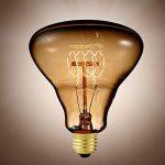 Ampoule rétro à incandescence E27 format XXL - forme Triangulaire de la marque Luminea image 1 produit
