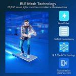 Ampoule Smart Bulb E27 LED Multicolore Dimmable Ampoule Intelligente iLintek Bluetooth Lampe Ambiance Pas de Hub Requis Télécommande Par Smartphone (G95-13W-1100LM) de la marque iLintek image 2 produit