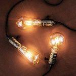 Ampoule Vintage, Elfeland 6x E27 4W Ampoule Filament LED Ampoule Edison Lumière Décorative 2200K 400LM Idéal pour Nostalgie et l'éclairage Rétro Blanc Chaud Modèle G80 & ST64(Non Dimmable) de la marque Elfeland image 1 produit