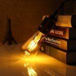 Ampoule Vintage, Elfeland 6x E27 4W Ampoule Filament LED Ampoule Edison Lumière Décorative 2200K 400LM Idéal pour Nostalgie et l'éclairage Rétro Blanc Chaud Modèle G80 & ST64(Non Dimmable) de la marque Elfeland image 3 produit