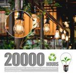 Ampoule Vintage LED, Elfeland E27 6W Ampoule Edison Lampe Rétro Antique Dimmable Ampoule Décorative Amber 600LM 2200K Lumière Blanc Chaud pour Lustres Plafonniers Modèle G80-3 Packs de la marque Elfeland image 3 produit