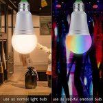 Ampoule Wi-Fi Smart Bulb Dimmable LED Light 60 W Ampoule équivalent 650 lm, télécommande avec Smart Device et contrôle vocal de Amazon Alexa et Google Home aucun Hub demandé (Cool Daylight White 7 W 6000 K E27) de la marque AUSEIN image 4 produit