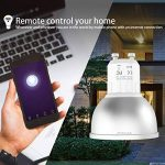 Ampoule WiFi EXTSUD GU10 Ampoule Connectée Intelligente 5W Lampe LED Couleur Multicolore RGB Contrôlé par Amazon Echo Alexa, Smartphone Android et iOS, Tablette de la marque EXTSUD image 3 produit