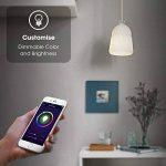 Ampoule WiFi, Maxcio Ampoule Intelligente Contrôle à Distance via APP Gratuit (IOS et Android), Minuterie et Couleur Dimmable, 9W-E27 Smart Ampoule Alexa, pas Besoin de Hub (1 Pack) de la marque Maxcio image 2 produit