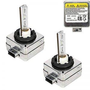Ampoules D1S/C, CICMOD 1 Paire D1S D1C 35W 6000K Xénon HID Ampoules Lampes de Remplacement de la marque CICMOD image 0 produit