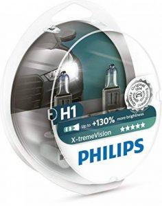 Ampoules De Phare Avant Origine Philips Xtreme Vision +130 H1 (2Pcs) 12258Xv+S2 de la marque Philips image 0 produit