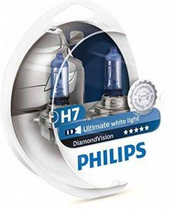 AMPOULES DE PHARE MISE À NIVEAU PHILIPS DIAMOND VISION H7 (PACK 2PCS) de la marque Philips image 0 produit