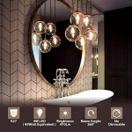 Ampoules Filament LED ST64 4W (=40W), 470Lm Blanc Chaud 2700K, Non-dimmable, Vintage Rétro Décoration, 6 Paquets, ANWIO de la marque ANWIO image 1 produit
