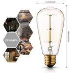 ampoules à filament rétro TOP 2 image 2 produit