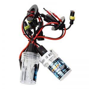 ampoules H7 Xenon HID - SODIAL(R) 2 * ampoules H7 Xenon HID 55W pour voiture - 6000K de la marque SODIAL(R) image 0 produit