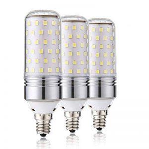 Ampoules à incandescence Leeds E14 LED 15W, 100W Ampoules incandescentes, Ampoules à incandescence 6000K Daylight White E14 Ampoules SES, 1000Lm, Petites ampoules à vis Edison à vis, Non-graduable, Paquet de 3 [Energy Class A +] de la marque Leools image 0 produit