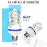 Ampoules LED E27, 12 W équivalent à 100 W, 980 Lumen LED Ampoule, Blanc Froid 6000K, Angle de Faisceau 360°, non dimmable, AC 85~265V de la marque Bro.Light image 1 produit