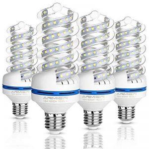 Ampoules LED E27, 16 watts équivalent à 150W, 1600 lumens LED Ampoule, 6000K blanc froid, Angle de Faisceau 360°, Non Dimmable, AC 85-265V - 4 pcs de la marque Bro.Light image 0 produit