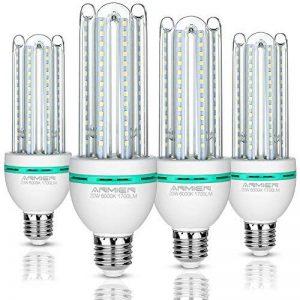 Ampoules LED E27, 20 W équivalent à 150 W, 1700 Lumen LED lampe, Blanc Froid(6000k), Non dimmable, Angle de Faisceau 360°, Non Dimmable, Lot de 4 de la marque Bro.Light image 0 produit