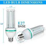 Ampoules LED E27, 20 W équivalent à 150 W, 1700 Lumen LED lampe, Blanc Froid(6000k), Non dimmable, Angle de Faisceau 360°, Non Dimmable, Lot de 4 de la marque Bro.Light image 2 produit