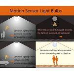 Ampoules LED E27 7W Radar Detector Ampoule Intelligente,LED Bulbs 1000lm Blanc Chaud (2700K) Eclairage pour Porche Passage Couloir Escalier de la marque Togather image 4 produit