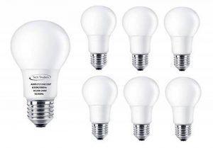 Ampoules à vis LED E27 Tech Traders® équivalent 110W, blanc chaud (3000K) et blanc froid (6000K), Cool White 11W(6000K), e27, 11.00 wattsW 240.0 voltsV de la marque Tech Traders® image 0 produit