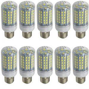 Aoxdi 10X E27 LED Ampoule 12W ,Blanc Froid , 96 SMD 5730 LED, Super Léger avec Un angle de faisceau de 360 °, AC220-240V de la marque Aoxdi image 0 produit