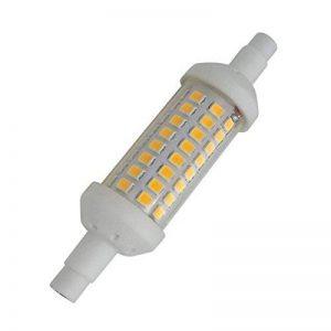 Aoxdi 1X Ampoule R7S LED 5W 78mm, Blanc Chaud, 64 SMD 2835 Spot Projecteur halogène LED R7S, AC220-240V de la marque Aoxdi image 0 produit