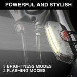 Apace Illuma ZT3000 Eclairage Avant pour Vélo Rechargeable USB - Puissant Phare Avant LED pour Vélo - Lampe Velo LED Haute Puissance Super Lumineuse pour Cyclisme Sport de la marque Apace Vision image 4 produit