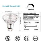 Apleye GU105W LED Super Lumineux Ampoule en blanc naturel lumière du jour 4500K, ampoules halogènes de remplacement de 45W [Classe énergétique A + +] 6pcs/lot de la marque Apleye image 1 produit