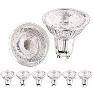 Apleye GU105W LED Super Lumineux Ampoule en blanc naturel lumière du jour 4500K, ampoules halogènes de remplacement de 45W [Classe énergétique A + +] 6pcs/lot de la marque Apleye image 0 produit