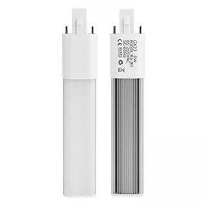 Appareils d'éclairage encastrés horizontaux de lampe de tube de lampe compacte de 2 broches LED de Haofy 6W(Warm White-3000K) de la marque Haofy image 0 produit