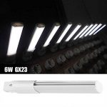 Appareils d'éclairage encastrés horizontaux de lampe de tube de lampe compacte de 2 broches LED de Haofy 6W(Warm White-3000K) de la marque Haofy image 1 produit