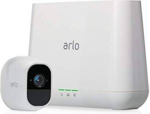 Arlo Pro 2 - VMS4130P-100EUS - Pack de 1 Caméra, 1080p HD nouvelle génération qui offre une flexibilité totale - grand angle 100% Sans Fils - avec batterie rechargeable 6 mois et audio bi-directionnel, Intérieure / extérieure et alarme intégrée de la marq image 0 produit