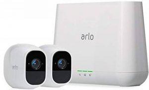 Arlo Pro 2 - VMS4230P-100EUS - Pack de 2 Caméras, 1080p HD nouvelle génération qui offre une flexibilité totale - grand angle 100% Sans Fils - avec batterie rechargeable 6 mois et audio bi-directionnel, Intérieure / extérieure et alarme intégrée l de la m image 0 produit