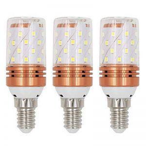 ARTGEAR E14 Ampoule LED à économie d'énergie, 8W/800LM, Lumière Blanche Chaude 3000K, Angle de faisceau 360 °, Petite Vis Edison, Classe énergétique A+ (Pack de 3) de la marque ARTGEAR image 0 produit