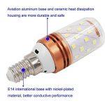 ARTGEAR E14 Ampoule LED à économie d'énergie, 8W/800LM, Lumière Blanche Chaude 3000K, Angle de faisceau 360 °, Petite Vis Edison, Classe énergétique A+ (Pack de 3) de la marque ARTGEAR image 2 produit