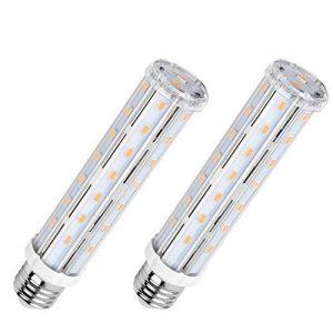 AsapGot 2Pcs 15W E27 LED Ampoule à Maïs Blanc Chaud 6000K,Lampe Led 1500LM Équivalent 120W Lampe Incandescent 44 x SMD5730 Angle de Faisceau 360°Eclairage Lampe LED E27 de la marque SanGlory image 0 produit