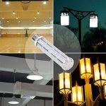 AsapGot 2Pcs 15W E27 LED Ampoule à Maïs Blanc Froid 6000K,Lampe Led 1500LM Équivalent 120W Lampe Incandescent 44 x SMD5730 Angle de Faisceau 360°Eclairage Lampe LED E27 de la marque SanGlory image 2 produit