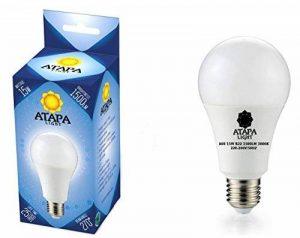 ATAPA SMD Ampoule à LED 15W E27 , 1500 lm, Angle d'éclairage 270°,Équivalence lampes à incandescence 100W, lumière des LED très claire et naturelle, blanc chaud, Edison culot, éclairage encastré de la marque ATAPA image 0 produit
