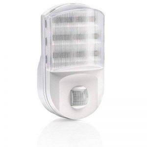 Auraglow Fiche euro superhelles Veilleuse LED/Éclairage de sécurité avec détecteur de mouvement PIR wohn aide de la marque Auraglow image 0 produit