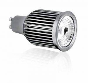 Aurora Dimmable 7W GU10haute puissance ampoules LED Blanc froid 4000K–50W équivalent de la marque Aurora image 0 produit